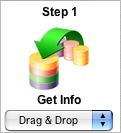 FmPro Migrator - Step 1 - Get Info Icon
