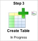 FmPro Migrator - Step 3 - Create Table Icon